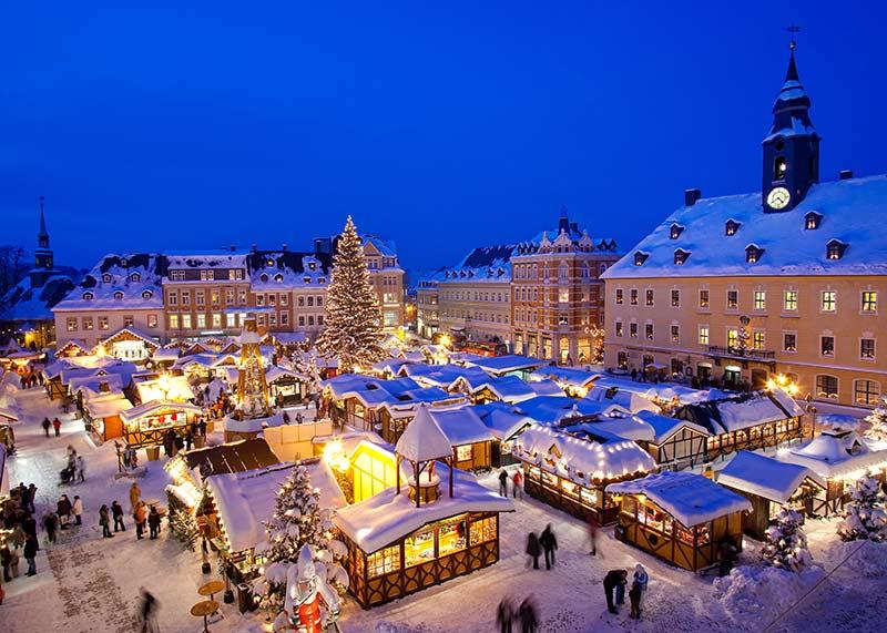 Weihnachtsmärkte in Sachsen