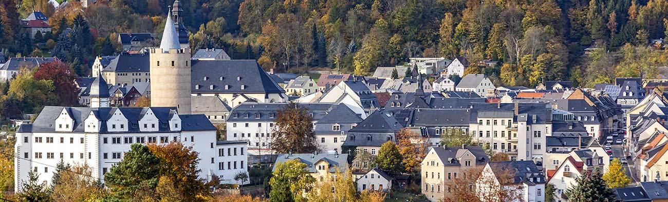 Panorama von Schloss Wildeck