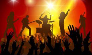 Konzert, Tanz und Party