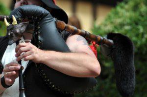 Dudelsack im Mittelalter