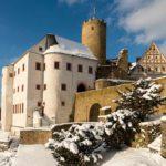 Burg Scharfenstein im Winter