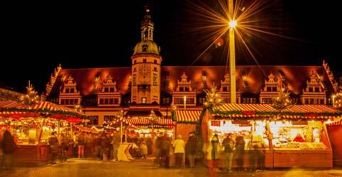 Leipziger Weihnachtsmarkt.Weihnachtsmarkt In Leipzig Urlaub Und Freizeit In Sachsen