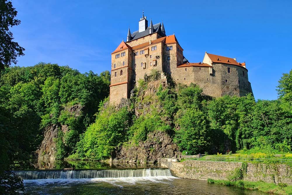 Burg Kriebstein in Sachsen